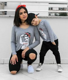 Mother Son Matching Outfits, Mom And Baby Outfits, Twin Outfits, Kids Outfits, Mother Son Photos, Mother Daughters, Daddy Daughter, Baby Boy Fashion, Kids Fashion