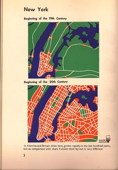 Map of New York 19th & 20th centuries