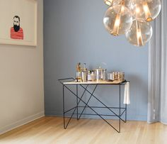 Coleman Bar Cart by Gretade Parry Design, Chicago