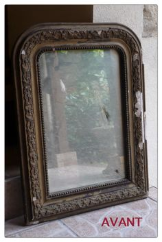 French Mirror, Halloween Diy, Furniture Makeover, Shabby, Colours, Frame, Grand Bazar, Style, Home Decor