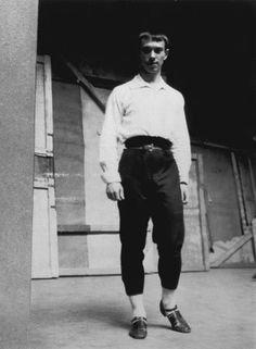 Vaslav Nijinsky, 1907