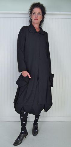 Kokomarina Tramontane Coat, Vogue Skirt and Maryline Tights