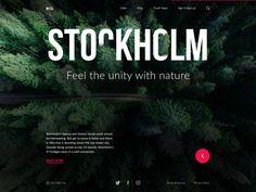 Big city guide stockholm web tubik