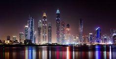 Dubai at Night HQ Wallpaper