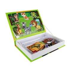 AOLI Magnetic Puzzle Book Early Childhood Educational Toys Intellectual Jigsaw for ChildrenKids Dinosaurs Age Series 872626 -- Visit the image link more details. Note:It is affiliate link to Amazon.