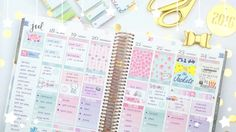 How to Plan for School! Plan with Me ft. The Coffee Monsterz Co. - Flora...