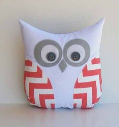 easiest/cutest DIY pillow ever! all you need is a small pillow, felt, buttons, and fabric glue! easy!!