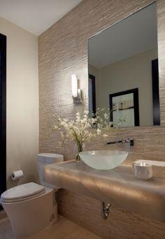 Home Decor - Bathroom in modern Gold