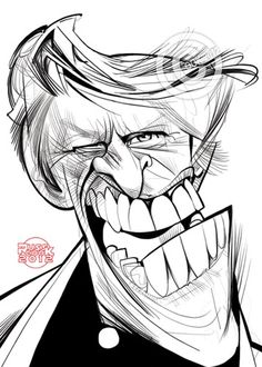 Cartoon: Gary Busey (medium) by Russ Cook tagged movies,movie,acting,russell,cooker,rusty,cook,russ,white,and,black,photoshop,wacom,digital,drawing,illustration,cartoon,caricature,america,american,hollywood,actor,busey,gary