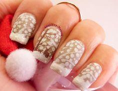 #nailart #stamping #nailart #mani #uñas #diseñodeuñas #uñasestampadas #sexynails #moda #estilo #style #fashion #winter #winternails #snow #nieve