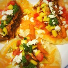 Healthy Pork Tacos   foodsciencenerd.com