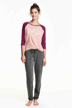 Pijama din jerseu | H&M
