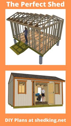 If you have the right shed plans and easy to use building guide with email support, you can build your own backyard office shed, garden shed, storage shed, shed house, guest house, she shed, he shed and more. If you visit the link today you just might save some more money and the shed building plans are submittable for building permits also! Shed Building Plans, Diy Shed Plans, Backyard Storage Sheds, Shed Storage, Garden Tool Shed, Garden Sheds, 3d Building Models, Workshop Shed, Build Your Own Shed