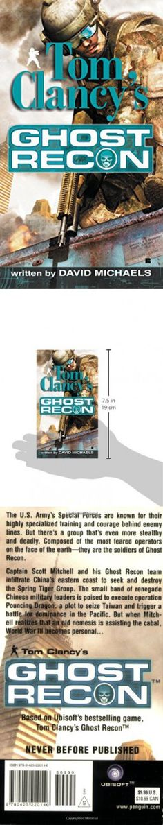 Ghost Recon (Tom Clancy's Ghost Recon, Book 1)
