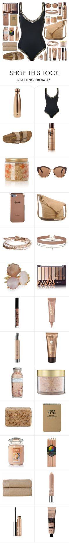 """My sweet love, won't you pull me through? Everywhere I look I catch a glimpse of you."" by povring ❤ liked on Polyvore featuring S'well, kiini, Birkenstock, Guerlain, Bodhi, Marni, Harrods, Lonna & Lilly, Miss Selfridge and Ippolita"