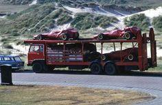 Ferrari F1 Team arriving in Zandvoort [NL]