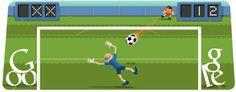 #olympics2012 football #googledoodle