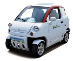 Korean automaker CT&T, e-zone neighborhood electric vehicle