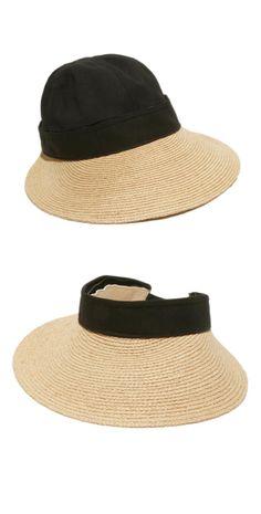 Gottex Physician Endorsed Regatta Black Natural  Hat  d0e0d3f42e8