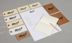 Motel Studios brand Identity by She Was Only