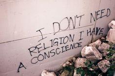 fabala:  religion // conscience