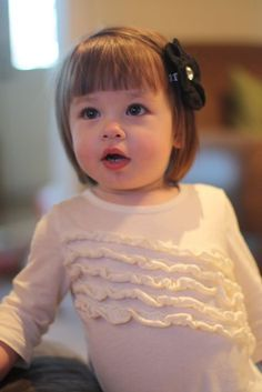 Image result for baby girls first haircut styles