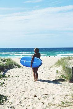 Surf time! Coolangatta - Australia