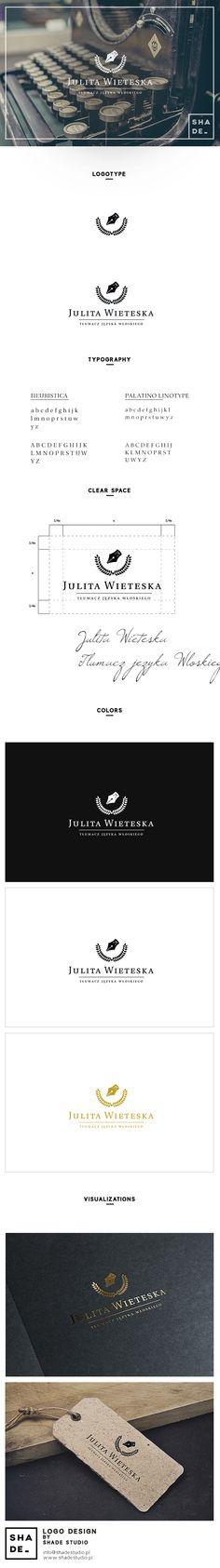 Julita Wieteska Logo Design