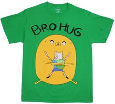 Bro Hug – Adventure Time T-shirt  also waant
