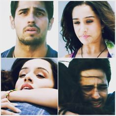 Sidharth malhotra and shraddha kapoor as Guru and aisha in ek villain