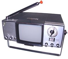 This Sony Portable TV was Top Notch in '65