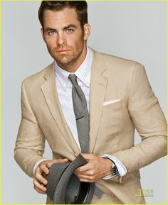 Chris Pine; just found out who he is; definitely a hottie
