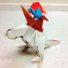 #Origami Dinosaurs