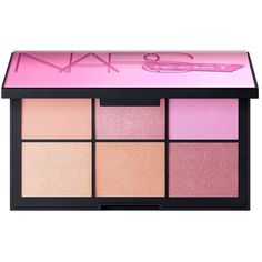 NARS Unfiltered Cheek Palette II ($59) ❤ liked on Polyvore featuring beauty products, makeup, nars cosmetics and palette makeup