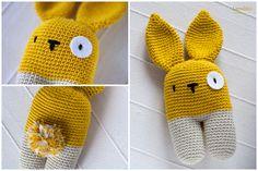 DIY Doudou le lapin. (Lanukas: Un conejito bípedo) (http://www.lanukas.com/2013/09/un-conejito-bipedo.html)