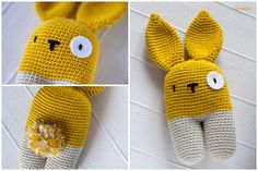 Arg! So cute!   Amigurumi Animal - FREE Crochet Pattern / Tutorial. English version of pattern further down  – from Lanukas