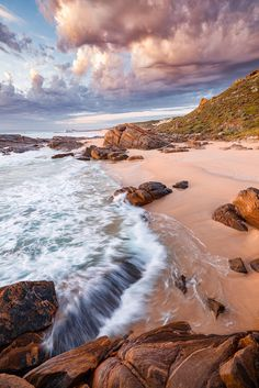 Honeycombs Beach, just south of Moses Rock. in the beautiful Margaret River region. Leica Camera, Down South, Western Australia, Cape, Honeycombs, River, Tripod, Beach, Nature