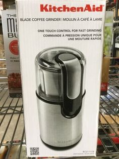 KITCHEN AID BCG111OB BLADE COFFEE GRINDER Electronic Appliances, Blade, Water Bottle, Electronics, Coffee, Kitchen, Kaffee, Cooking, Kitchens