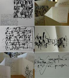 Calligraphy and art Monica Dengo | Classes in Japan 2010