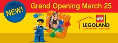 Mommy's Favorite Things: LEGOLAND Discovery Center Michigan GRAND OPENING & GIVEAWAY #LDCMichigan