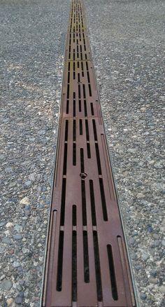 Iron Age Design - rain Trench Grate -rain-5-x-20-e