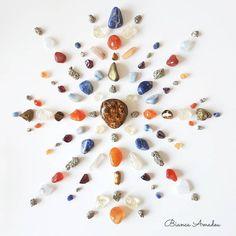 Crystal Mandala, Instagram, Journey, Crystal Grid, Cute, Crystals, Stones, Everything, Cases