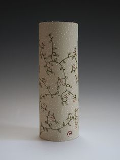 Large+Botanical+Vase by Vaughan+Nelson: Ceramic+Vase available at www.artfulhome.com