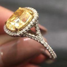 x Yellow Diamond Rings, Gemstone Rings, Gemstones, Jewelry, Jewlery, Gems, Jewerly, Schmuck, Jewels