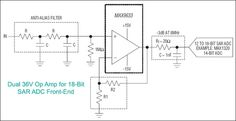 MAX9633: Fast-Settling High-Voltage Op Amp is Ideal for an ADC Buffer