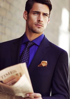 Eric Belanger Gavin Blake this is one gorgeous picture! is part of Mens clothing styles - Dapper Gentleman, Gentleman Style, Evolution Of Fashion, Beautiful Men Faces, Gq Style, Elegant Man, Business Outfit, Handsome Faces, Mens Fashion