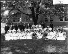 Miami University summer school English class in 1911. #students #teachers #miamiu #miami #est1809