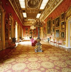 Room in a great house of London (Apsley House).