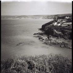 Diana Lomography Cornwall Port Isaac