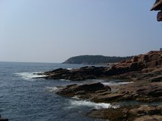 Schoodic Peninsula in Maine